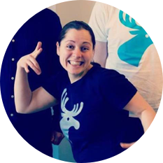 Victoria Wagman, developer at 46elks, project manager of Trainhack 2019